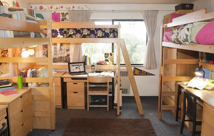 Indiana University Bed Size